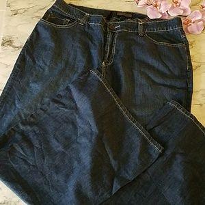 Nine West Wide Leg Jeans